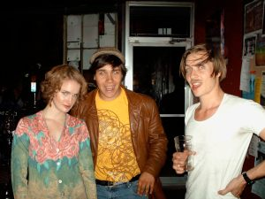 Amber, Sean and Alex at The Spill.