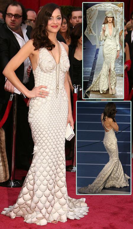 Remember Mario Cotillard's scallop dress?