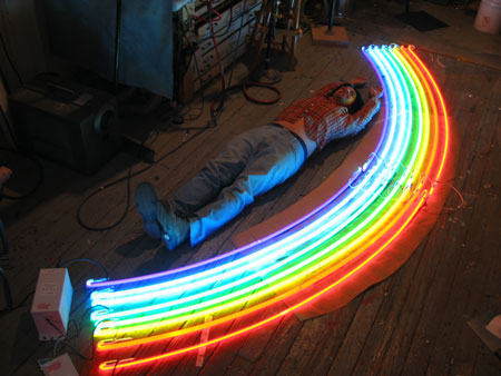 Rainbow for Stella McCartney by Lite Brite Neon