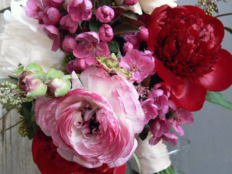Peonies and other flowers over at Design*Sponge; click photo for more!