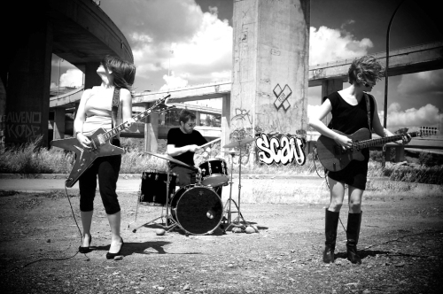 "Photo from ""The Bikeriders"" music video shoot under the Turcotte Interchange"