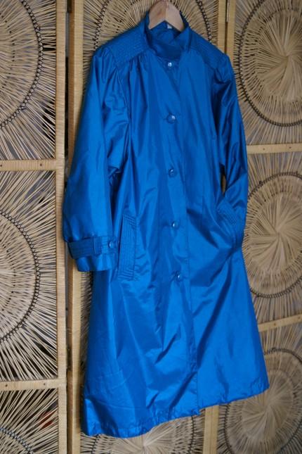 70s Spring Rain Coat on Etsy