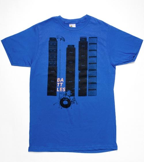 Battles band t-shirt