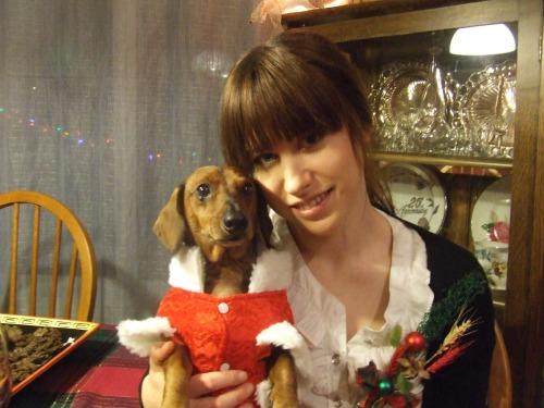 Me & Chester, x-mas '08
